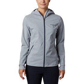Columbia Heather Canyon Softshell Jacket Women tradewinds grey heather